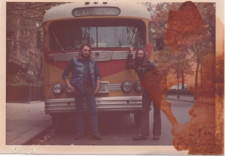 James Spach and Richard Cook Washington Square 1976